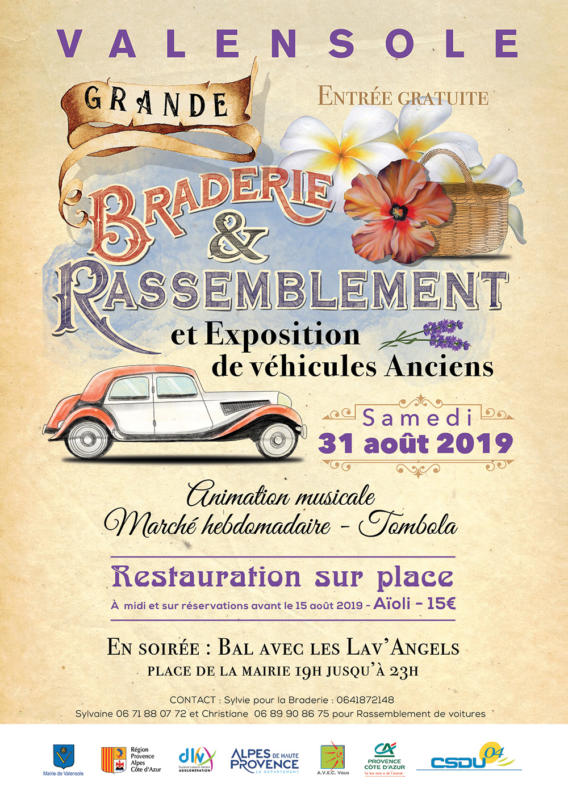Grande Braderie - Valensole - 31/08/2019