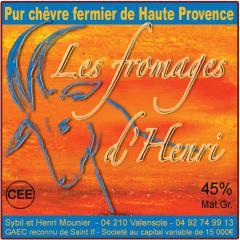 Sybil et Henri Mounier - Saint-If - Valensole